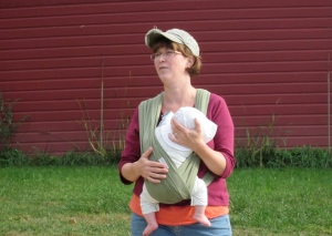 Jenny and Jesse Wooster, leading 2010 Farmer Training Tour at Picadilly Farm