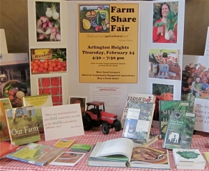 CSA Fair Display, Arlington Robbins Library