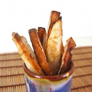 turnip fries